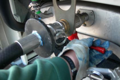 Entsorgungssystem Typ 2000: Einzeluntergrund - Schwer