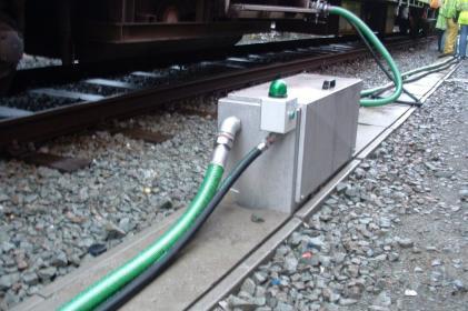 Entsorgungssystem Typ 4000: Einzeloberirdisch