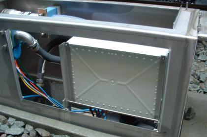 Réseau de vidange Type 4000: simple sur sol