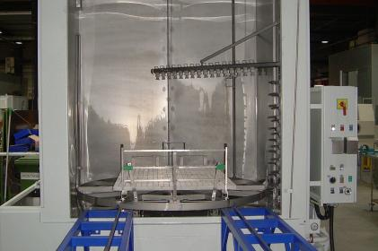 Machine de nettoyage ferroviaire SNCF