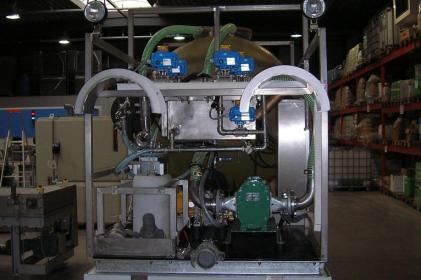 Mobile disposal systems for cleaning of bioreactors