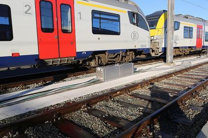 35 réseaux de vidange fixes pour la maintenance des trains