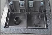 Disposal network Type 3000: Single underground - Most ergonomic solution