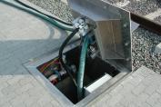 Entsorgungssystem Typ 1000: Einzeluntergrund
