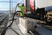 Options for disposal network systems for train and HS depots